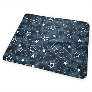 JINYOUR Constellation of Stars Diaper Change Pad Portable and Foldable Changing Mat (25.5â€x31.5â€)