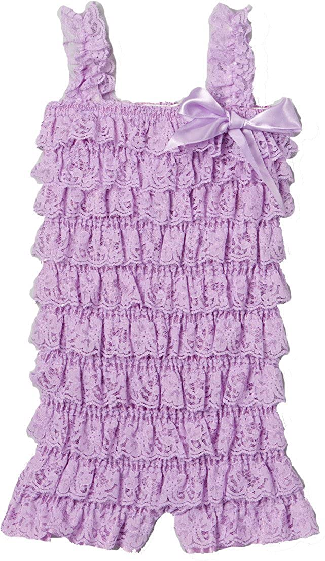 wenchoice Girls Lavender Lace Romper