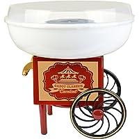 Gadgy ® Maquina de Algodón de Azúcar | Cotton Candy Machine para Casa | USA Azúcar Normal o Caramelos Duros | Estilo Retro para Fiesta y Ocasiones Especiales | Igual Que la Feria!