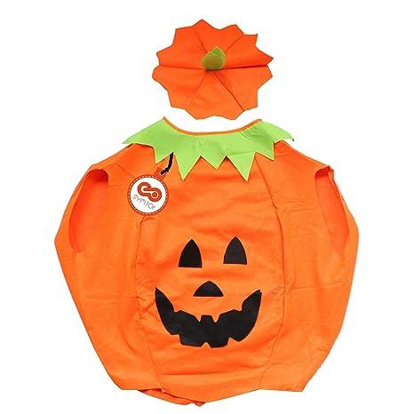 ultimo design prezzo basso prezzo più basso SYMTOP Zucca Costume di Halloween Festa Party Vestito Festivo per Adulti