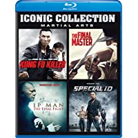 Iconic Collection: Martial Arts (Kung Fu Killer / The Final Master / IP Man: The Final Fight / Special ID) [Blu-ray] (Sous-titres français)