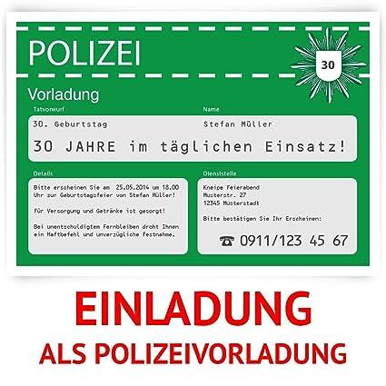 Tarjetas De Invitación Para Cumpleaños Como Policía
