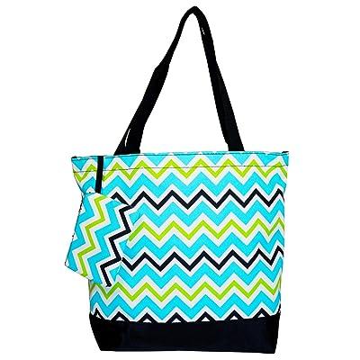 70%OFF Ever Moda Multi-color Chevron Tote Bag