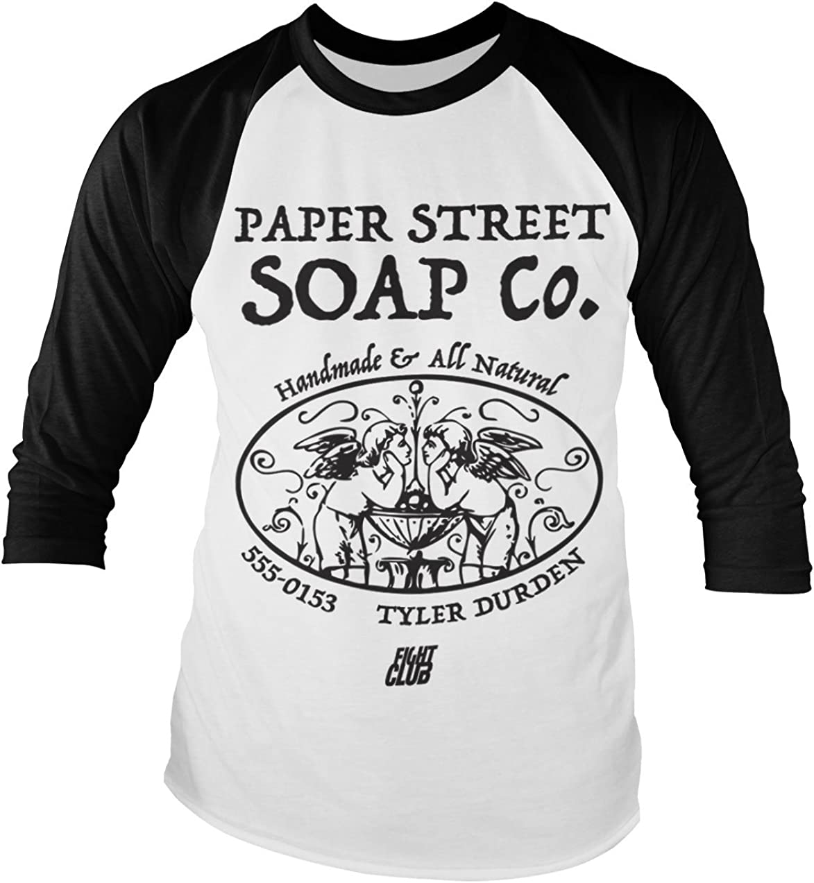 Paper Street Soap Company Men/'s T-Shirt S-XXL Officially Licensed Fight Club