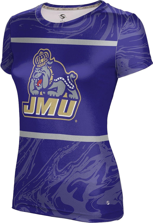 James Madison University Foundation Girls Performance T-Shirt Ripple