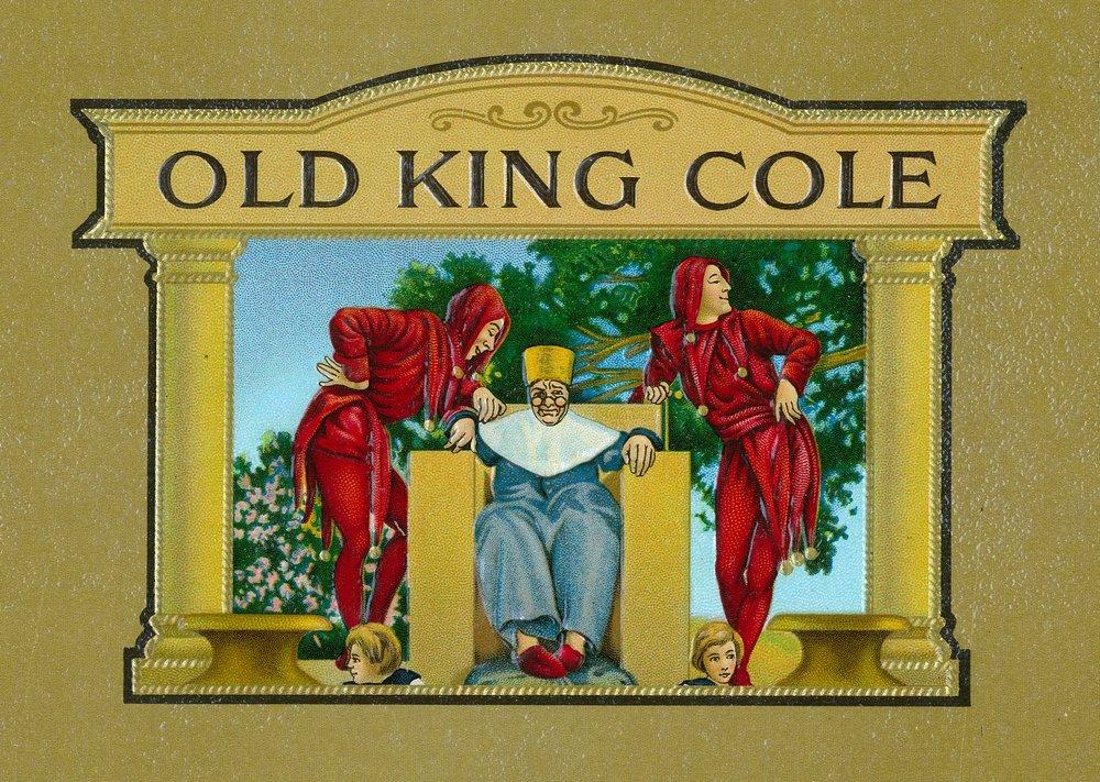 古いKing ColeブランドCigarインナーボックスラベル 36 x 54 Giclee Print LANT-27679-36x54 B01MFAZ9VW  36 x 54 Giclee Print