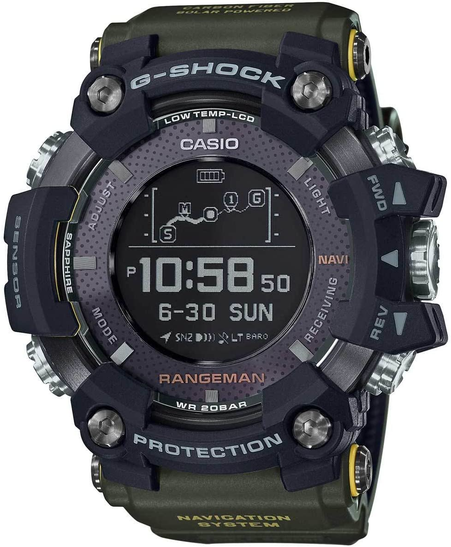 Casio GPRB1000-1 Premier GS Rangeman Solar GPS