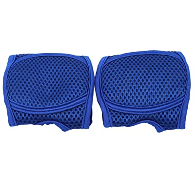 YouCY Breathable Mesh Knee Pads Adjustable Knee Pads Children Knee Pads Protector Child Boys Girls Learn to Walk Knee Protector,Treasure Blue,L 2-5 Years Old: Arts, Crafts & Sewing