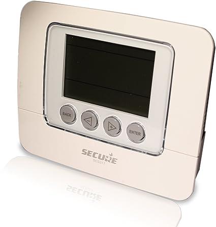Secure SEC_SCS317 Z-Wave Gris termoestato - Termostato (Z-Wave, Gris,