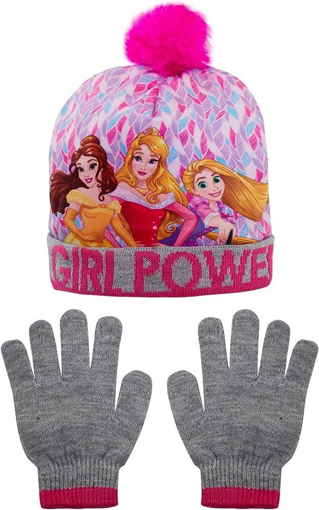 Fille Ensemble Bonnet et Gants Disney Princesse