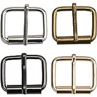 TsunNee 60 hebillas de rodillo de metal, cinturones