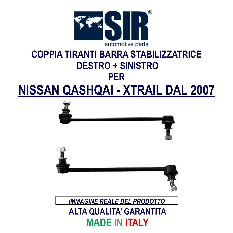 COPPIA TIRANTI BARRA STABILIZZATRICE DESTRO + SINISTRO SIR CODICE 0424012 + 0424013