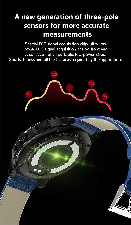 LDH Reloj Inteligente ECG Heart Rate Monitoring Fitness Tracker ...