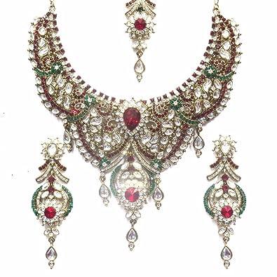 f1629aa3c8d Buy Jewelshingar Jewellery Exclusive Necklace Pendant Set for Women ...