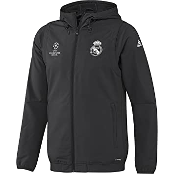 Real madrid jacke grau