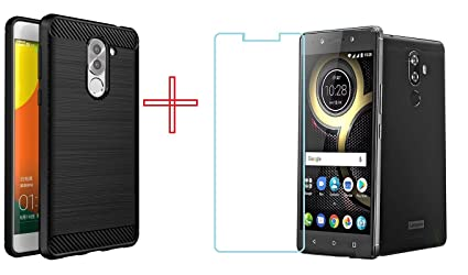 quality design 9e8fa 7aef8 Clorox Back Cover and Tempered Glass Combo for Lenovo K8 Note