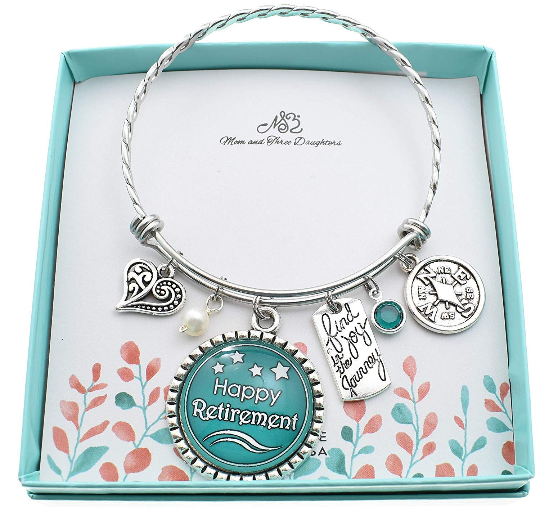 Bracelets Handmade Products Happy Retirement Bracelet Retirement ...