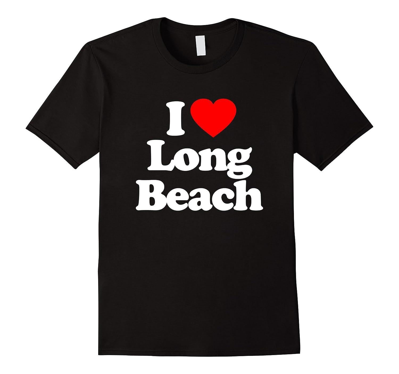 I Love Heart LONG BEACH T-Shirt-Art