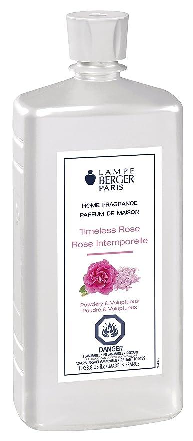 Amazon Com Lampe Berger 1 Liter Timeless Rose 1 Liter 33 8 Fl Oz