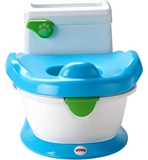 Blue Potty Trainer Turbo Non Slip Feet Babies//Children Comfortable Chair Colorful Training Potty Toilet Seat Trainer