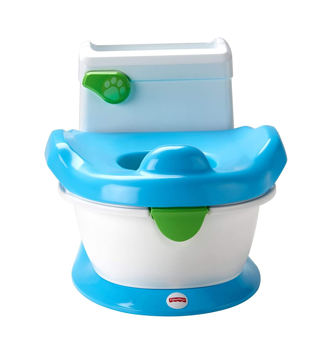 Fisher-Price Learn with Puppy Potty, Kids Toilet Training Seat with Sounds, Songs and Phrases to Encourage and Reward Mattel FPC42