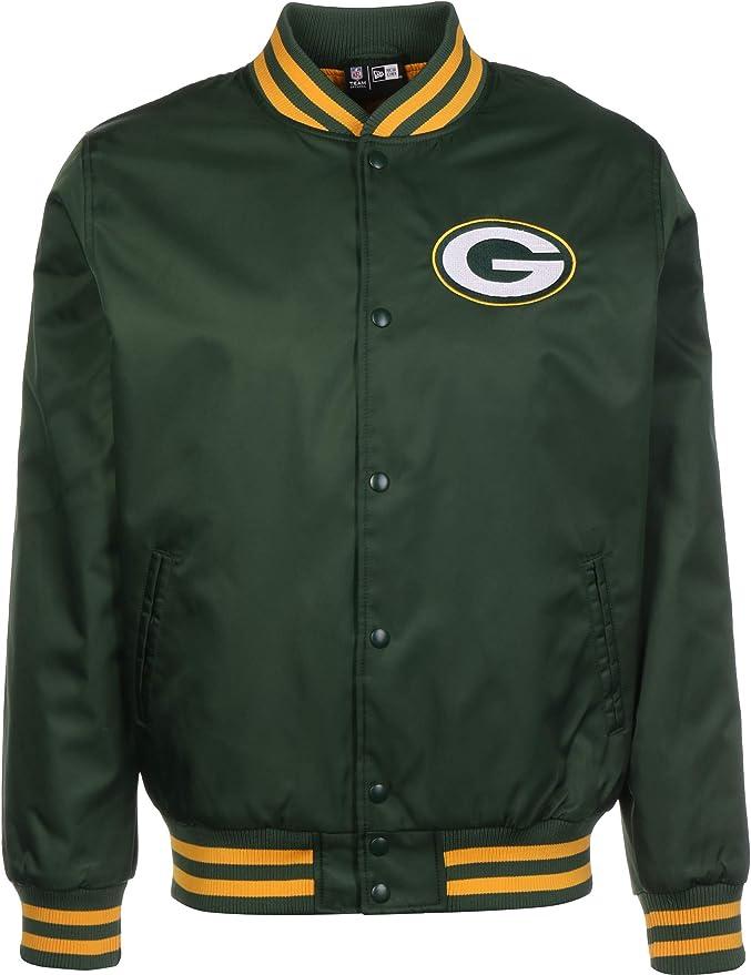 New Era NFL Green Bay Packers Team Wordmark Bomber - Chaqueta, Color Verde Verde XXXL: Amazon.es: Ropa y accesorios