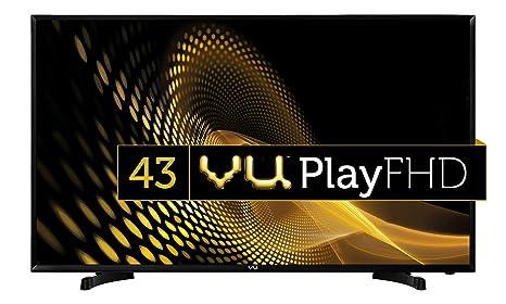 VU 108 cm  43 Inches  Full HD LED TV 43S6575  Black  Standard Televisions