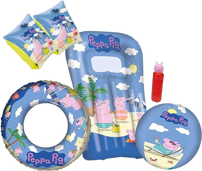 Happy People Peppa Pig - Flotador para niños (45 cm): Amazon.es ...