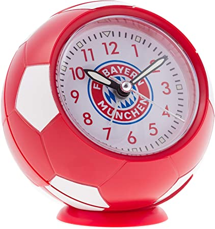 FC Bayern München Despertador Balón de fútbol Rojo/Blanco: Amazon ...