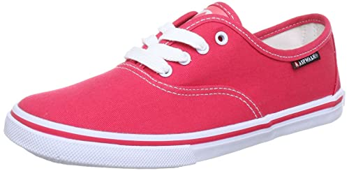 Airwalk CRUZ - Zapatillas de lona mujer, color rosa, talla 38: Amazon.es: Zapatos y complementos