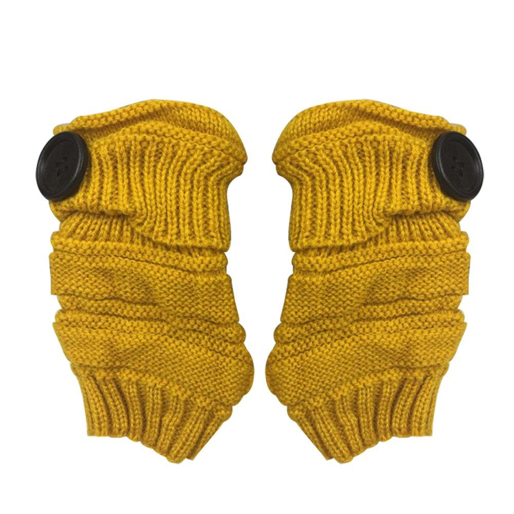 Monbedos 1pc Gants Chauds Gants tricotés Gants épais Gants d'hiver Gants Gants Courts en Laine tricotée 13 * 7cm