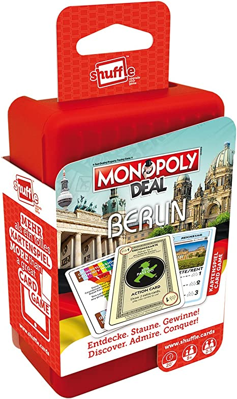 ASS Altenburger 22503321 Shuffle Monopoly Deal City Trip – Berlin: Amazon.es: Juguetes y juegos
