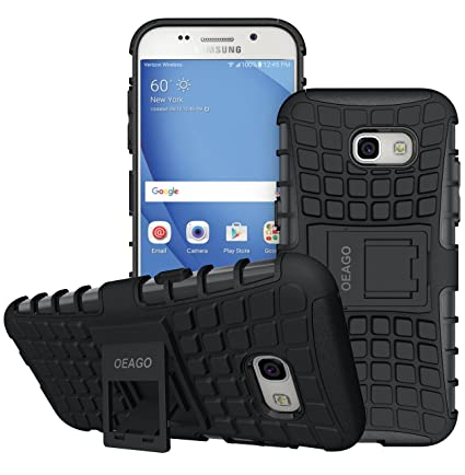 outlet store 49c19 ed700 Galaxy A5 2017 Case, OEAGO Samsung Galaxy A5 2017 Case [Shockproof] [Impact  Protection] Tough Rugged Dual Layer Protective Case with Kickstand for ...