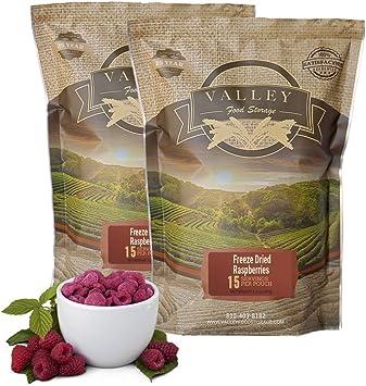 Valley Food Storage Frutas y verduras secas congeladas ...