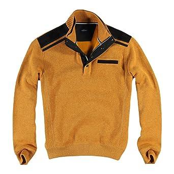 engbers Herren Sweatshirt Stehbund, 24687, Gelb: engbers: Amazon.de:  Bekleidung