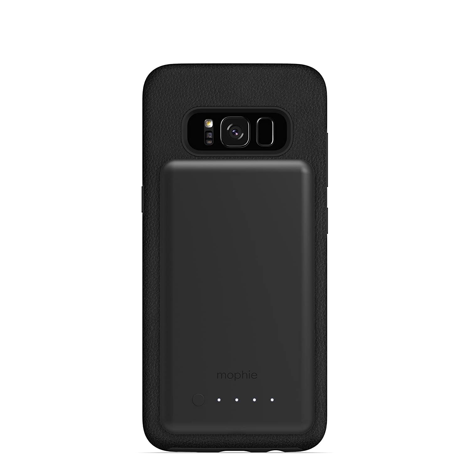 san francisco 27f44 b3c74 mophie charge force magnetic case & powerstation mini Made for Samsung  Galaxy S8 - Black