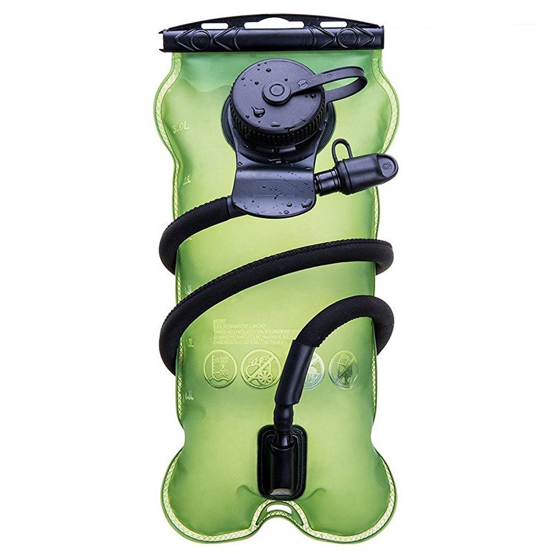 Baen Sendi Hydration Bladder 3 Liter//100 oz - Water Bladder for Hydration Pack (Green, 3 L /100 oz) by Baen Sendi