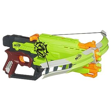 Amazon.com: Nerf Zombie Strike Crossfire Bow Blaster: Toys & Games