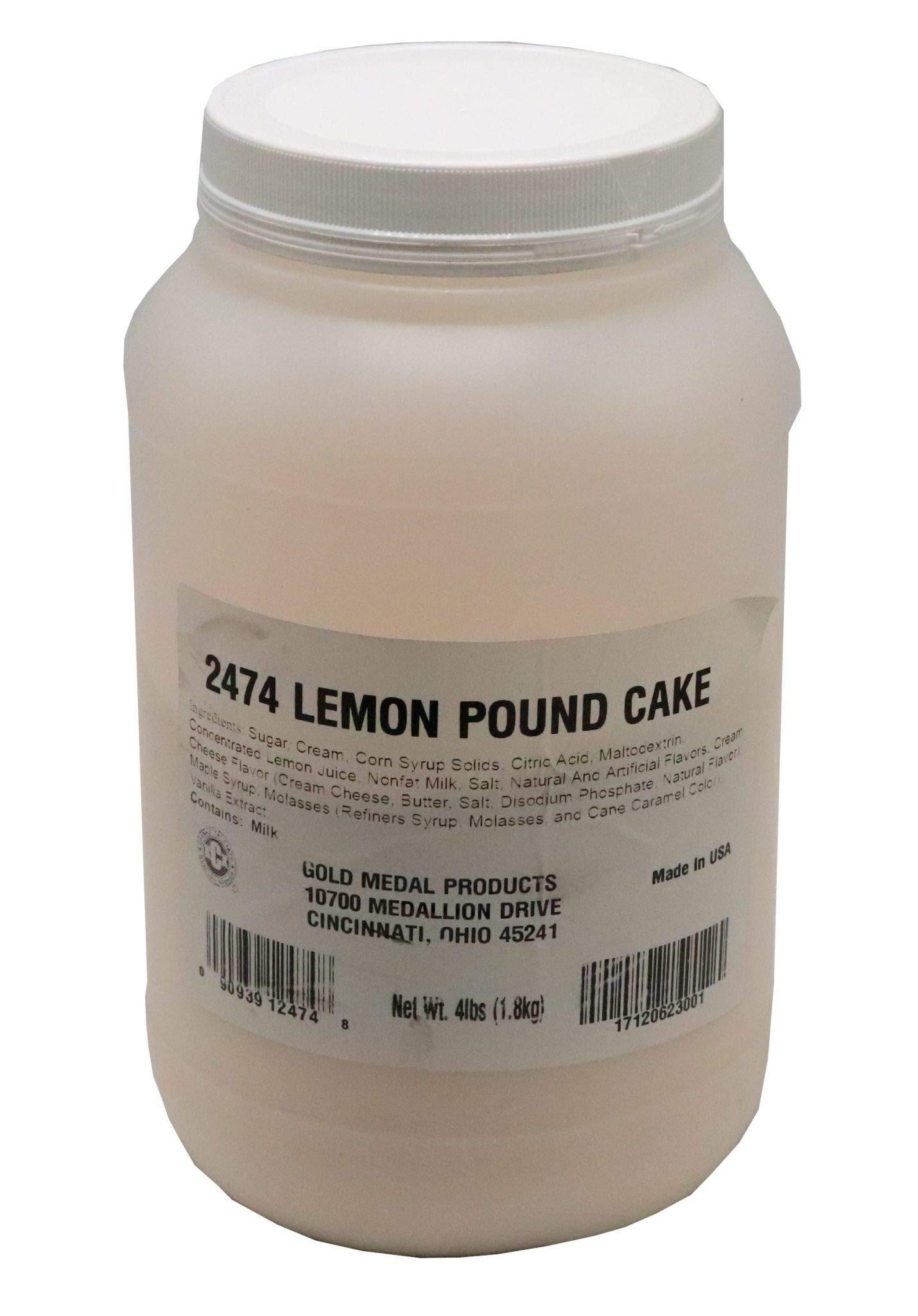Beach City Wholesalers Savory Shakers Lemon Pound Cake Popcorn Seasoning 4 lb jar (1 count)