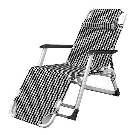 Amazon.com: LQ Silla plegable, reclinable al aire libre ...