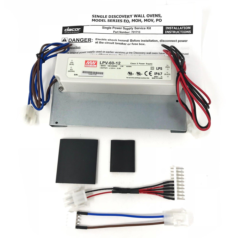 amazon com 701713 dacor appliance service kit power supply single rh amazon com