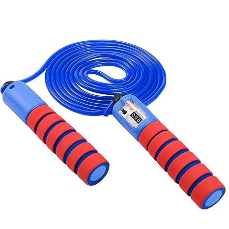 Acheter Authentic  conception de la variété oFami Corde à Sauter Speed Corde avec Compteur et Poignées ...
