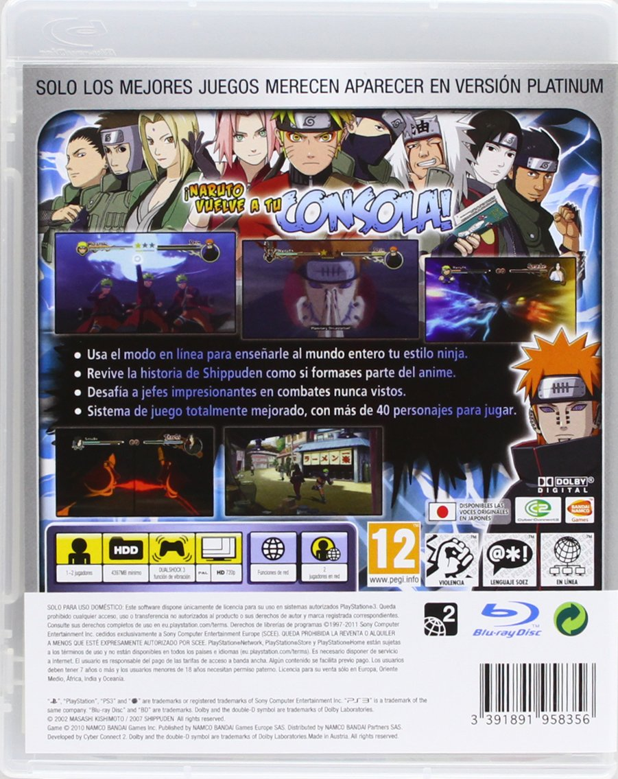 Naruto Shippuden: Ultimate Ninja Storm 2 - Platinum: Amazon ...