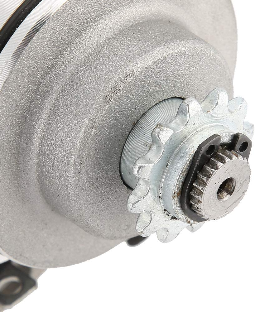 Akozon Anlasser Mount Start Anlasser 3 Bolzen Passend f/ür 110ccm 110ccm 125ccm Motor