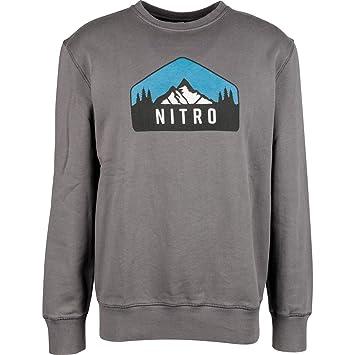 Nitro Snowboards Drtbag Crew Sudadera, Hombre, Pavement, L: Amazon.es: Deportes y aire libre