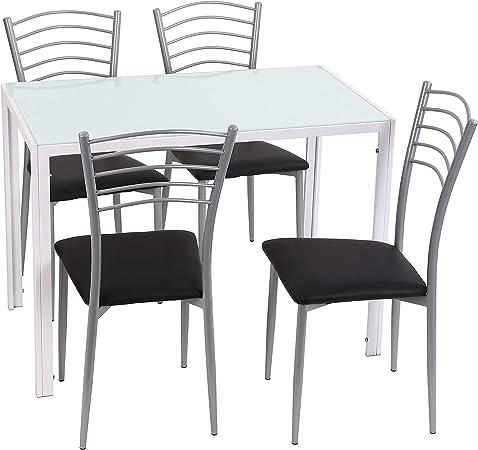 mesas y sillas cocina en amaon