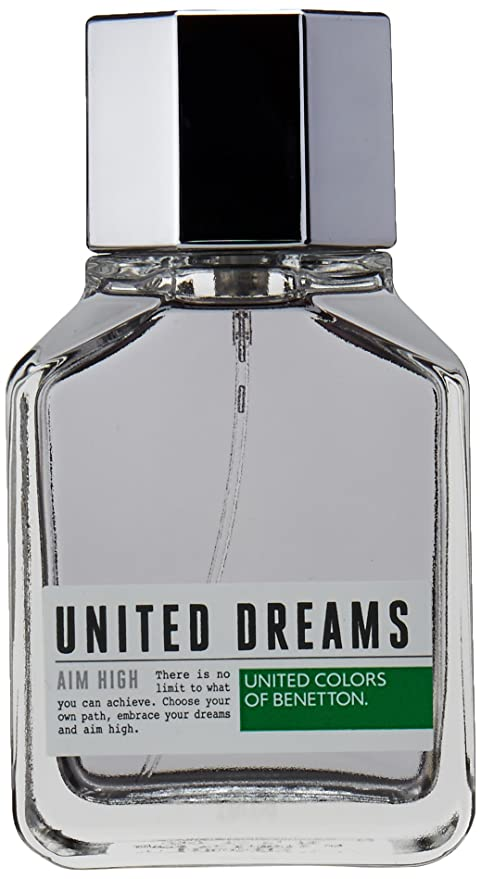 aed1acfc7 Buy United Colors of Benetton Dreams Aim High Perfume for Men -100 ml  Online at Low Prices in India - Amazon.in