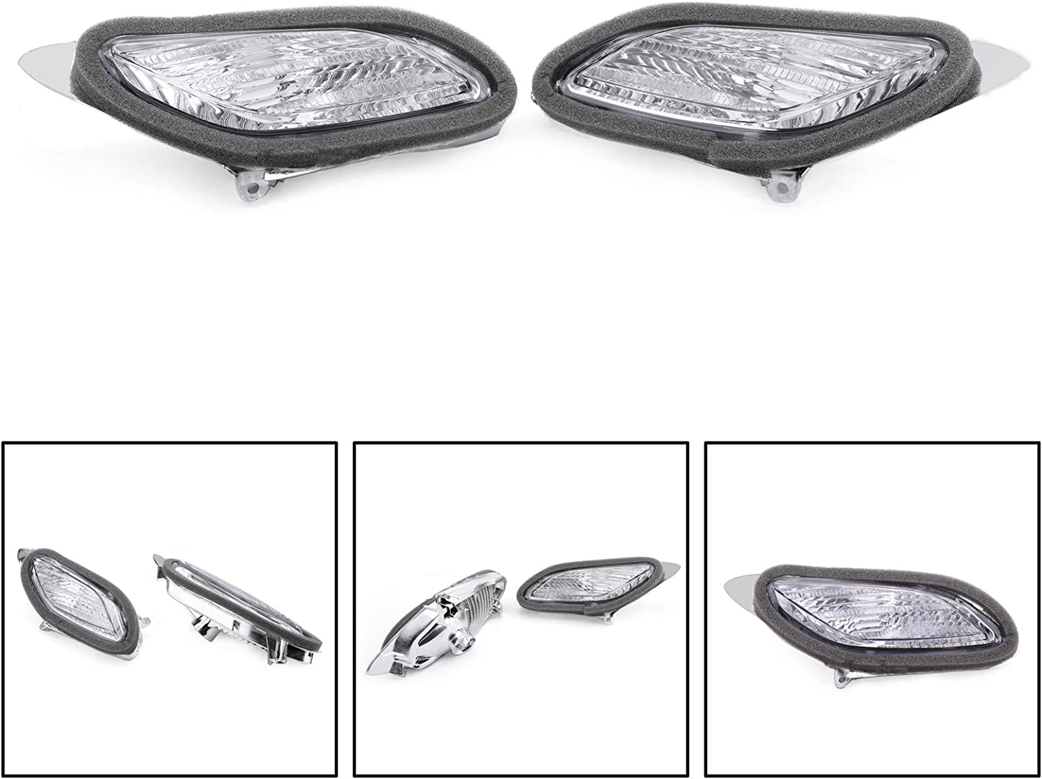 Areyourshop store Front Turn Signals OFFicial mail order For Honda ST1300 Clear 2002-2009