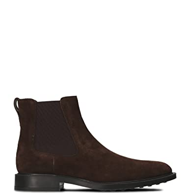 ca52beb1c6 Tod's Men's XXM45A00P20RE0S800 Brown Suede Ankle Boots: Amazon.co.uk ...