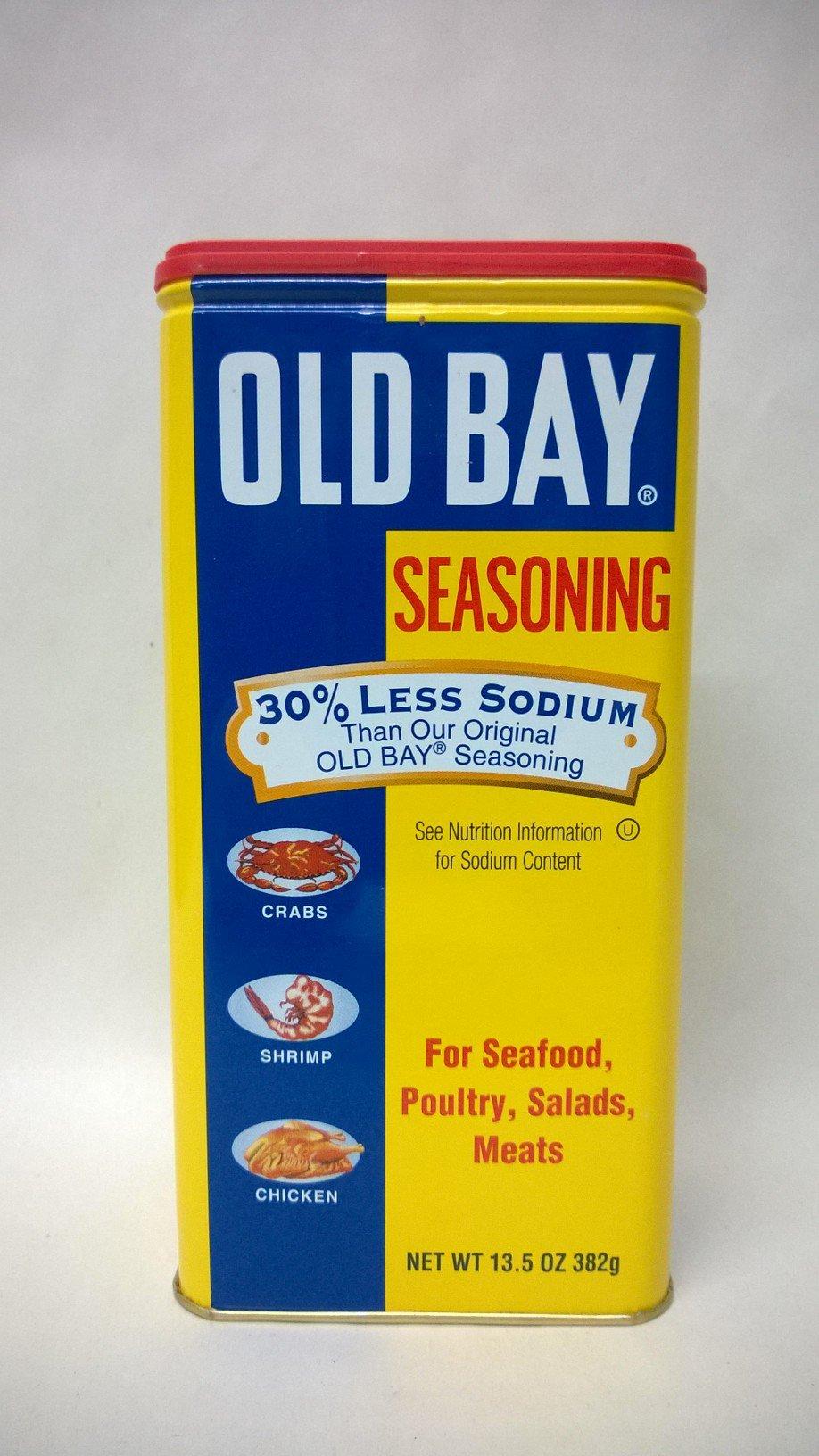 Old Bay Seasoning 30% Less Sodium 13.5 OZ